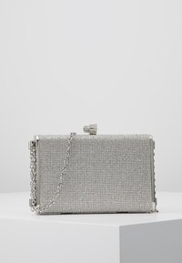 New Look - DIANA - DIAMONTE BOX CLUTCH - Psaníčko - silver - 0