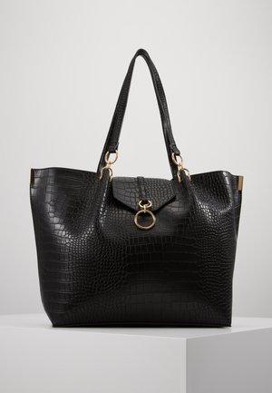 RHONDA RING DETAIL  TOTE - Tote bag - black