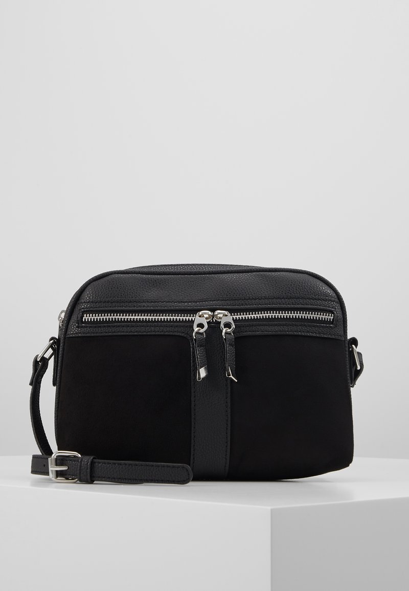 New Look - COLLETTE CAMERA BAG - Skulderveske - black