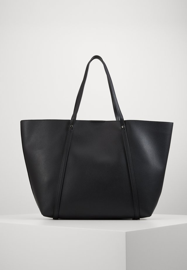 TIANA PLAIN TOTE - Shopping Bag - black