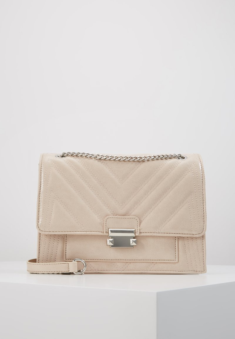 New Look - MOLLY MAE QUILTED - Sac bandoulière - oatmeal