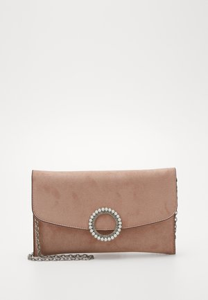 ELISSA RING CLUTCH - Clutches - oatmeal