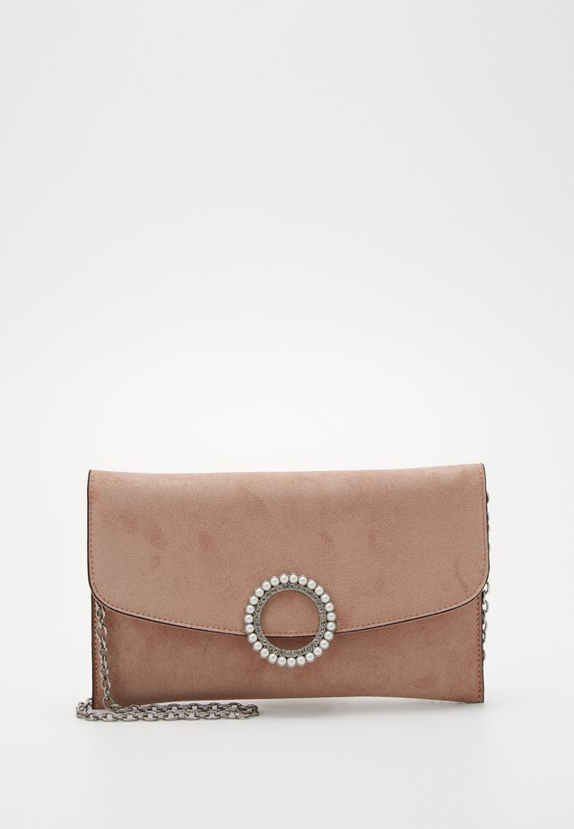 ELISSA RING CLUTCH - Clutch - oatmeal