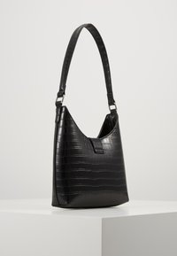New Look - GEORGIA CROC SHOULDER BAG - Kabelka - black - 3