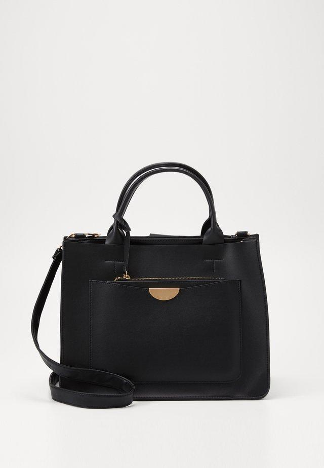 LEAH NEW LAPTOP BAG - Shopping Bag - black