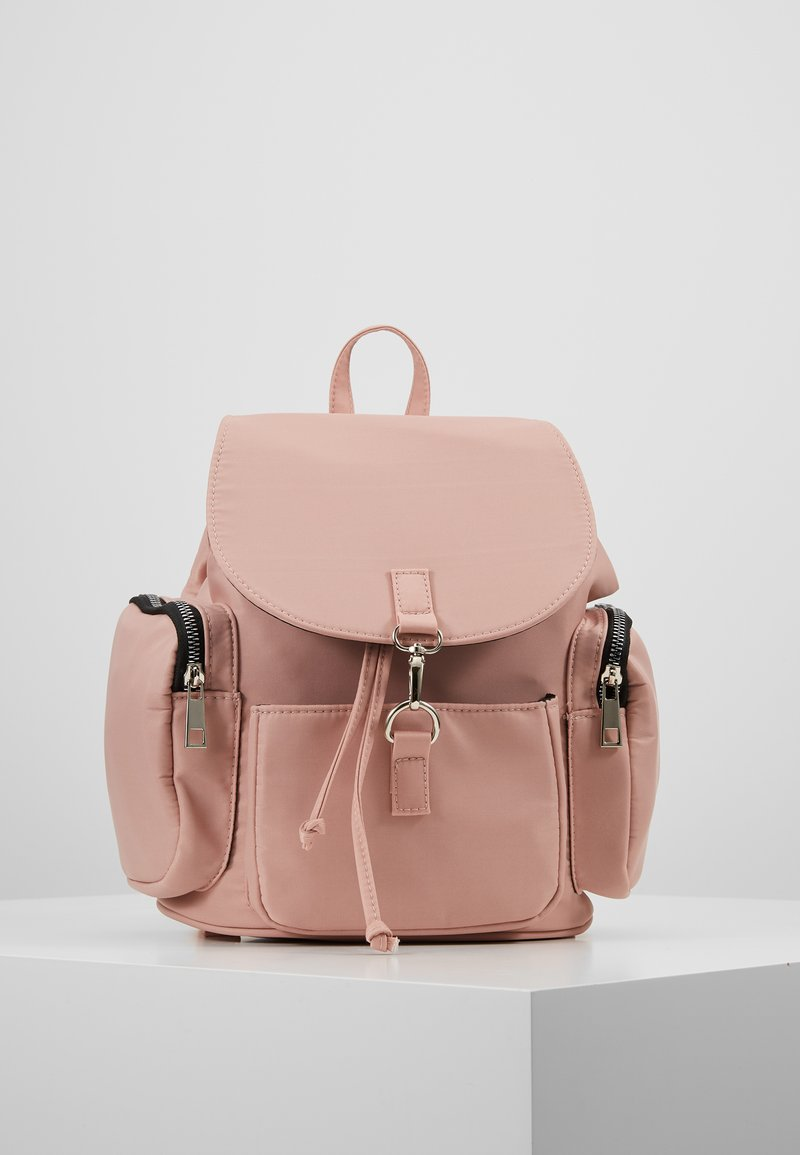 New Look - GRUNGEY BACKPACK - Rugzak - light pink