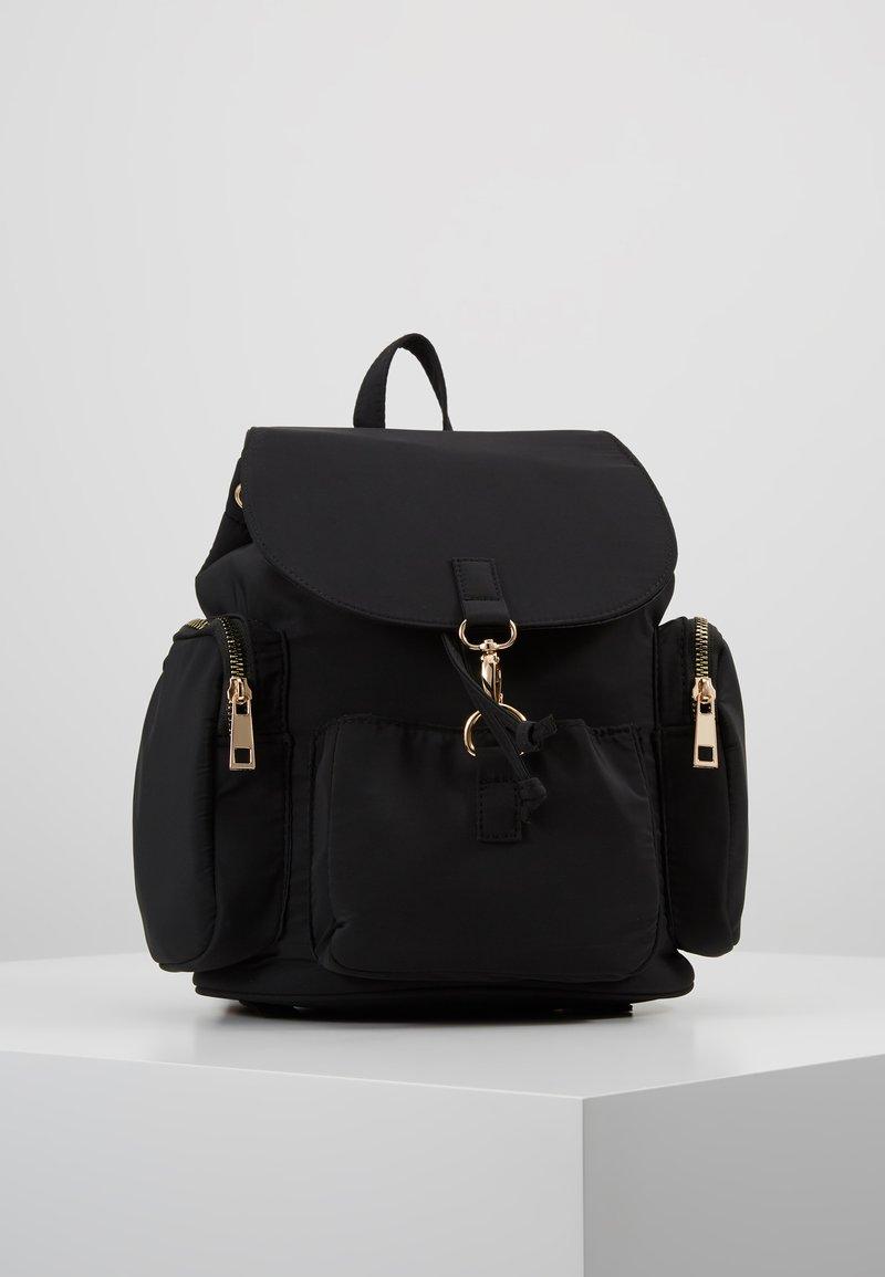 New Look - GRUNGEY BACKPACK - Rugzak - black