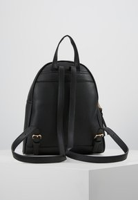 New Look - SID STUDDED ZIP BACKPACK - Reppu - black - 2