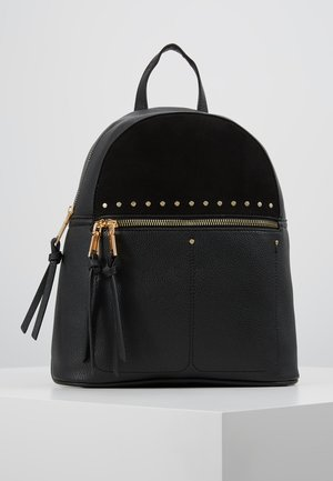 SID STUDDED ZIP BACKPACK - Sac à dos - black