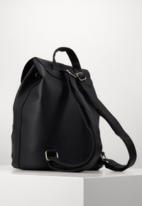 New Look - CLAUDE RING BACKPCK - Tagesrucksack - black - 3