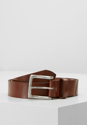 CORE LEATHER BELT - Cintura - tan