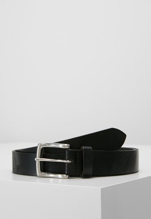 CORE LEATHER BELT - Cinturón - black