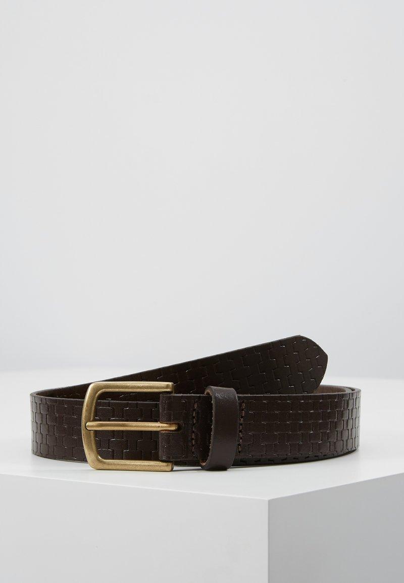 New Look - CROSS HATCH BELT - Cinturón - tan