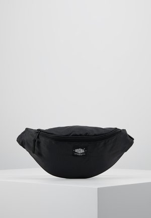 RIPSTOP BUM BAG  - Ledvinka - black