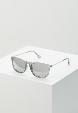 KEYHOLE SUNGLASSES - Sonnenbrille - silver-coloured