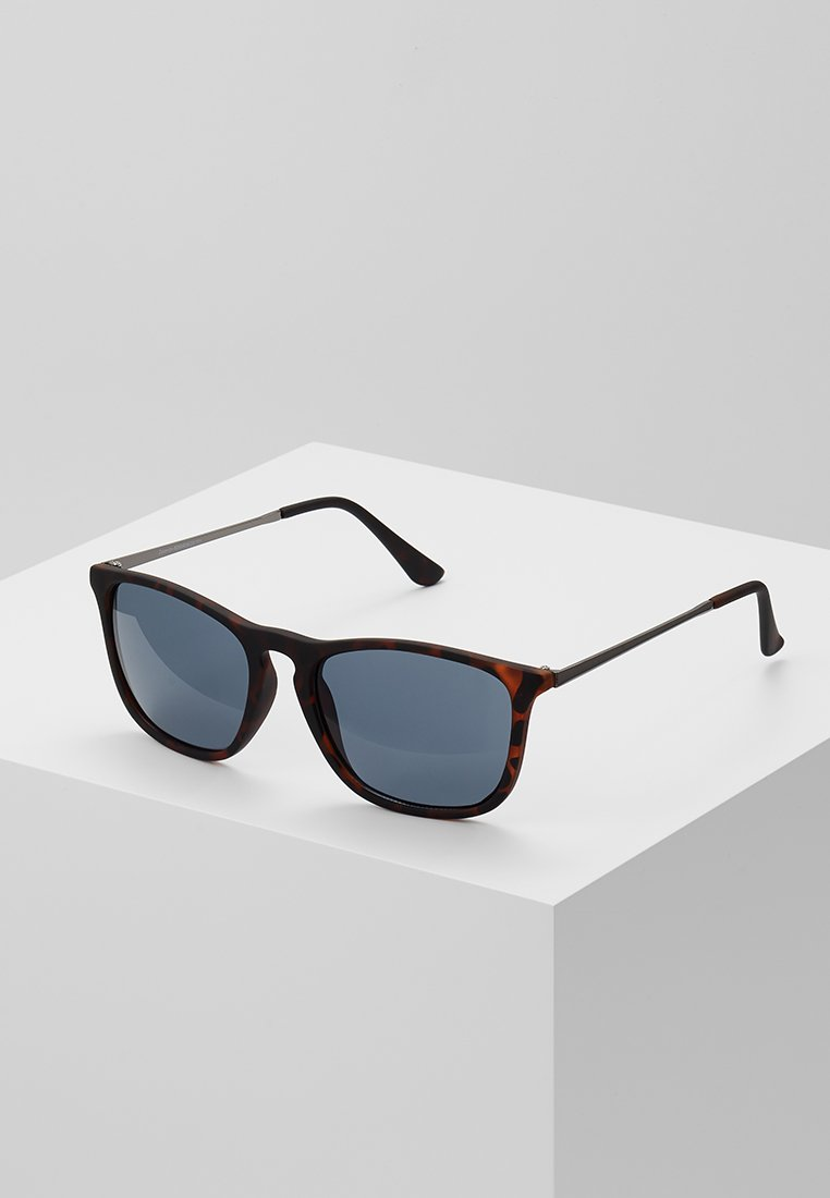 New Look - KEYHOLE SUNGLASSES - Zonnebril - brown pattern