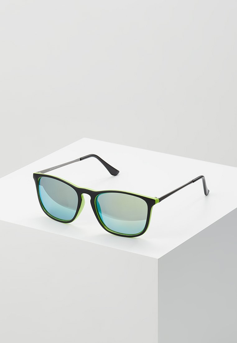 New Look - KEYHOLE SUNGLASSES - Sonnenbrille - bright yellow