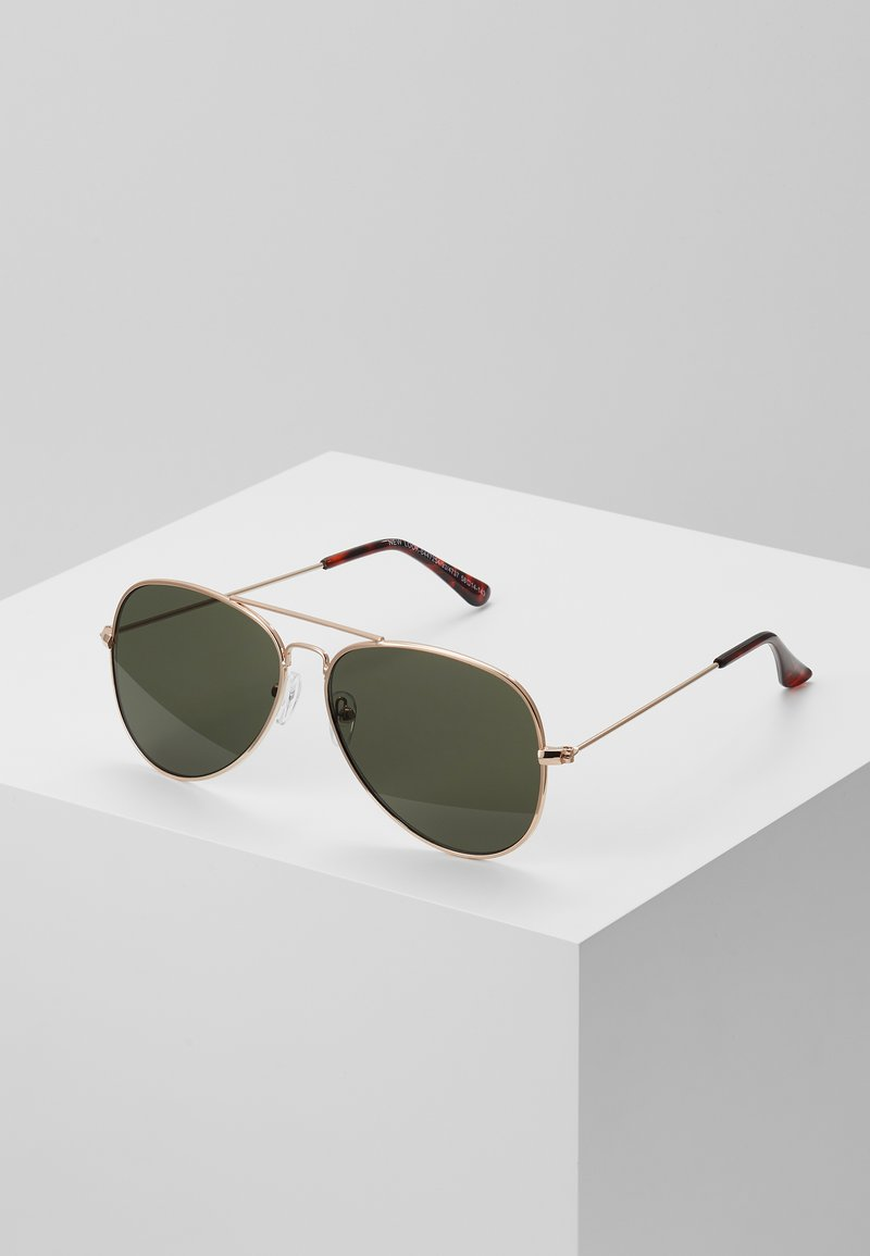 New Look - CORE AVIATOR - Zonnebril - gold-coloured