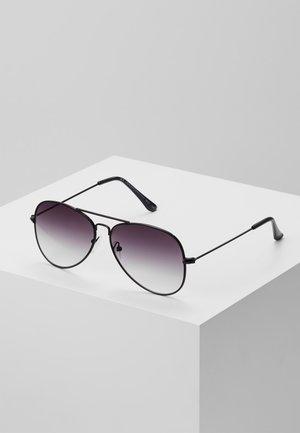 CORE AVIATOR - Sluneční brýle - black