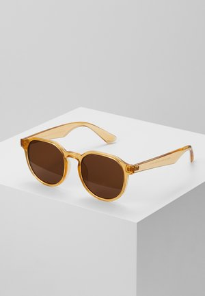 CORE PREPPY ROUND - Sonnenbrille - light brown