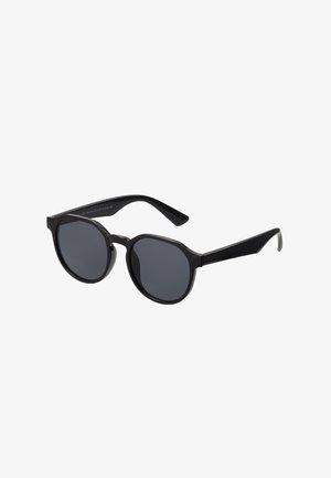 CORE PREPPY ROUND - Sluneční brýle - black