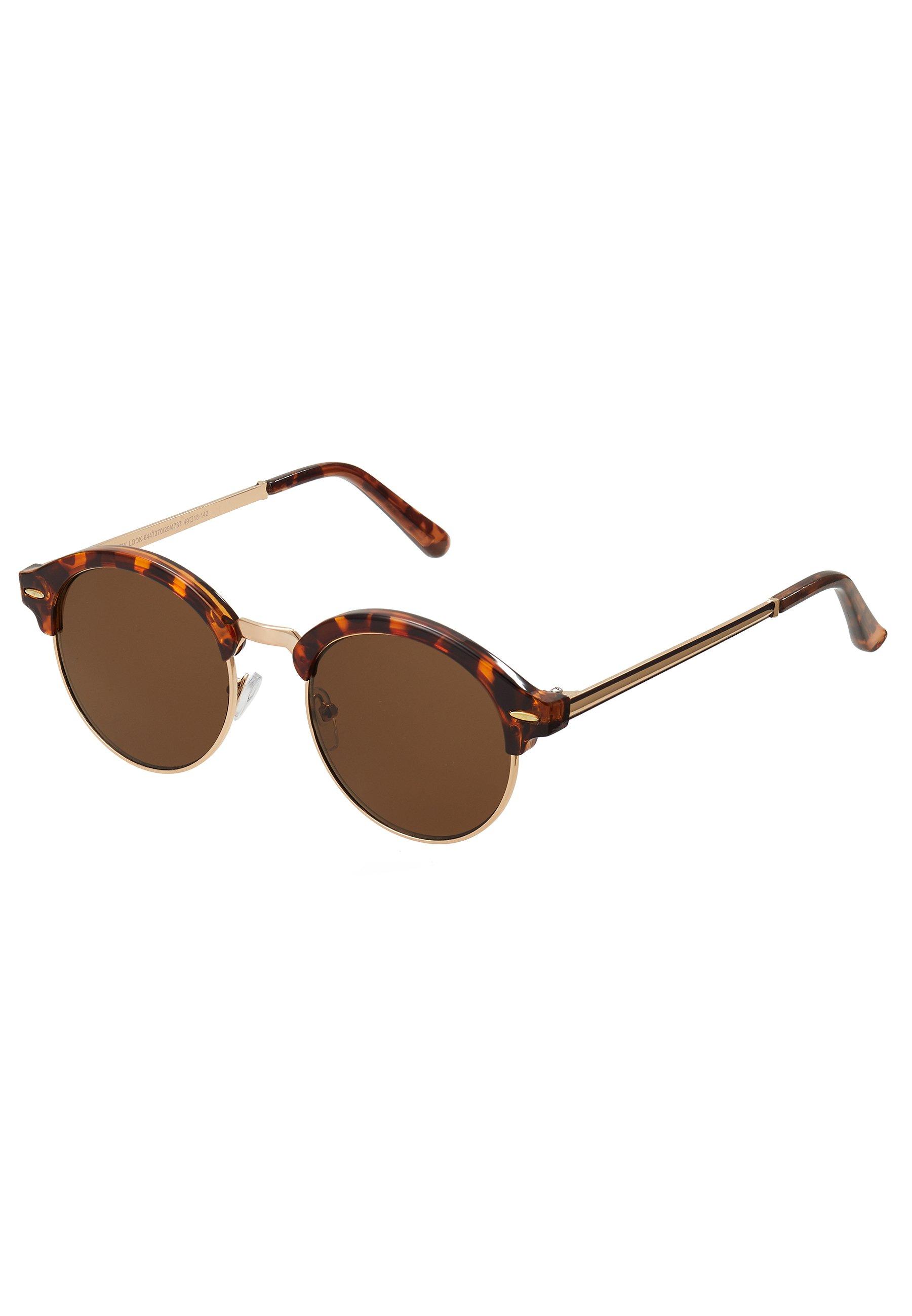 New Look CORE CLUB ROUND - Solglasögon - brown
