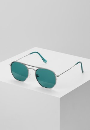 TOP BAR - Sunglasses - turquoise