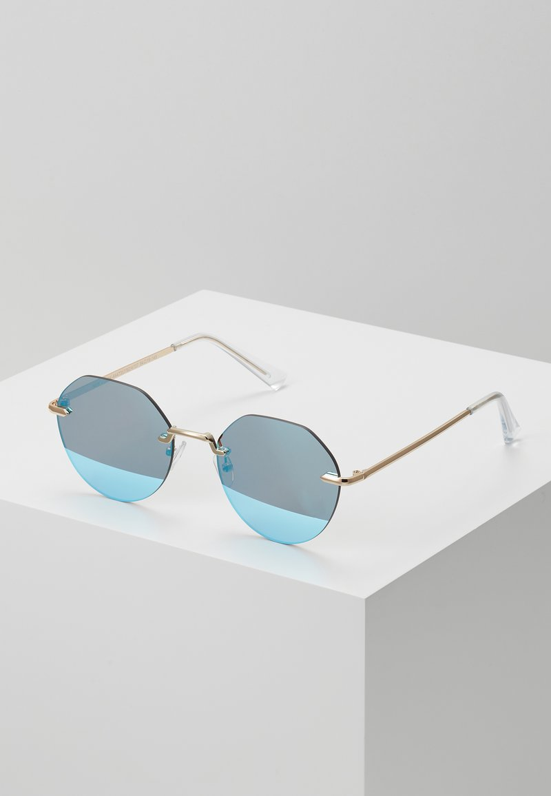 New Look - RIMLESS ROUND - Lunettes de soleil - silver-coloured