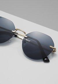 New Look - RIMLESS ROUND - Lunettes de soleil - black - 2