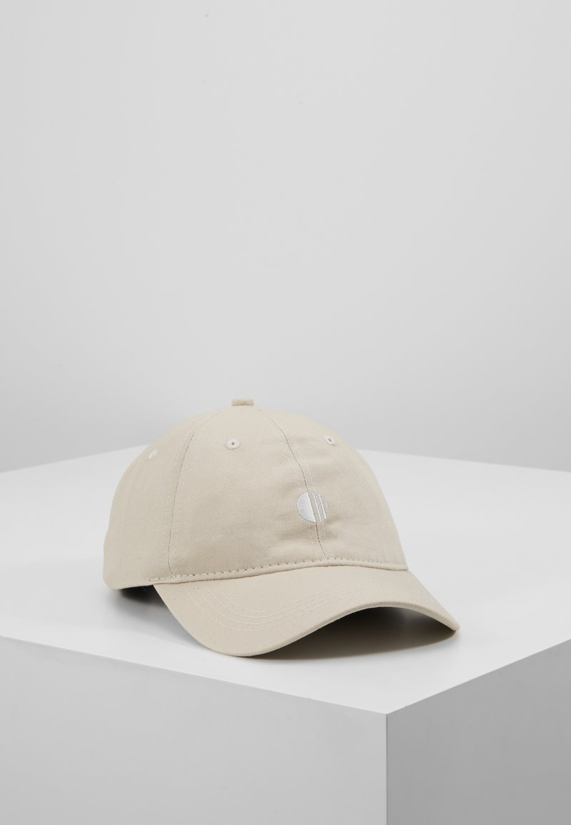 New Look - CORE EMBROIDERY  - Casquette - stone