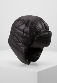 New Look - QUILTED TRAPPER  - Beanie - black - 0