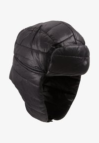 New Look - QUILTED TRAPPER  - Beanie - black - 4