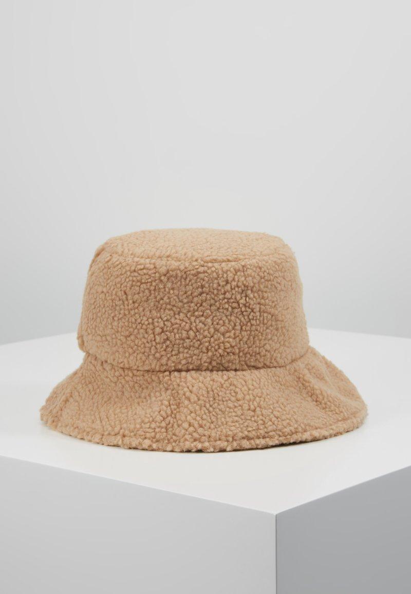 New Look - BORG BUCKET  - Hat - camel