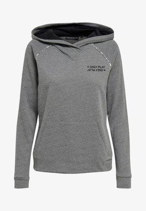 Jersey con capucha - medium grey melange