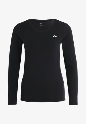 ONPCLARISSA TRAINING TEE OPUS - Sports shirt - black