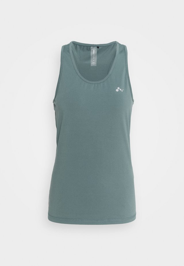 ONPCLARISSA TRAINING TEE - Sports shirt - goblin blue
