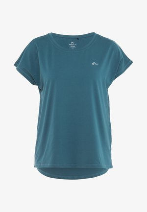 ONPAUBREE  LOOSE TRAINING TEE - T-shirt con stampa - shaded spruce