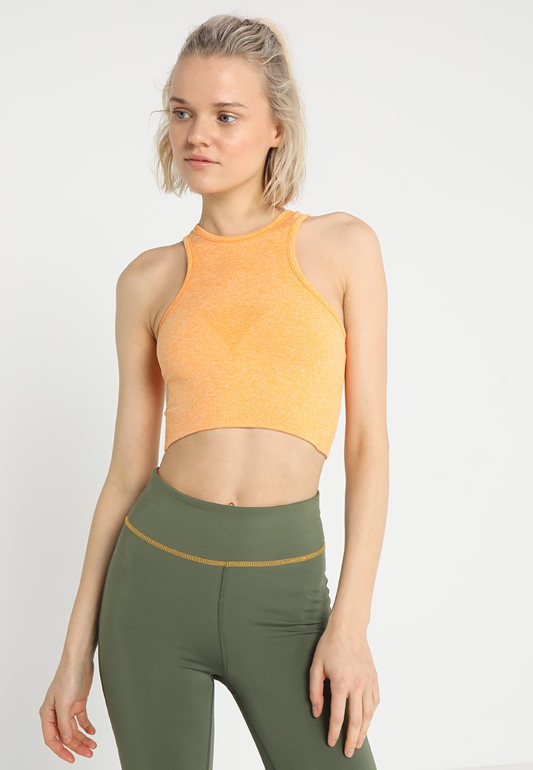 ONLY Play - ONPZELDA CIRCULAR CROP  - Funktionsshirt - zinnia