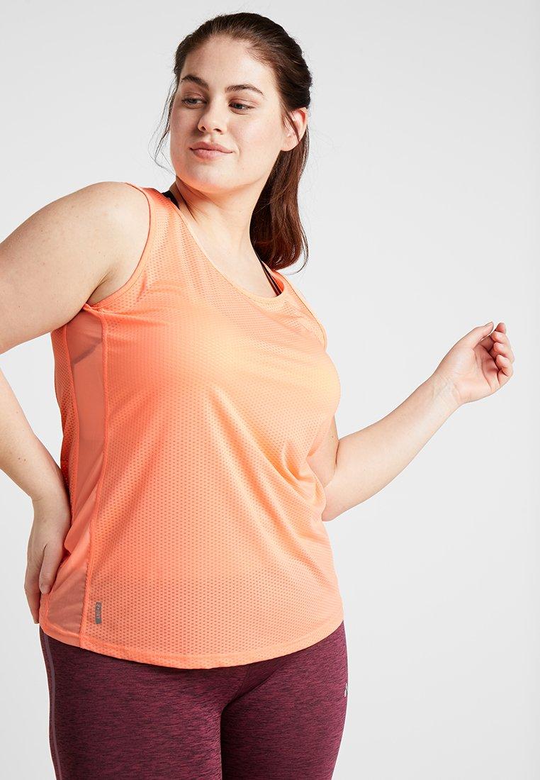 ONLY Play - ONPMATHILDA TRAINING CURVY - Sportshirt - neon orange