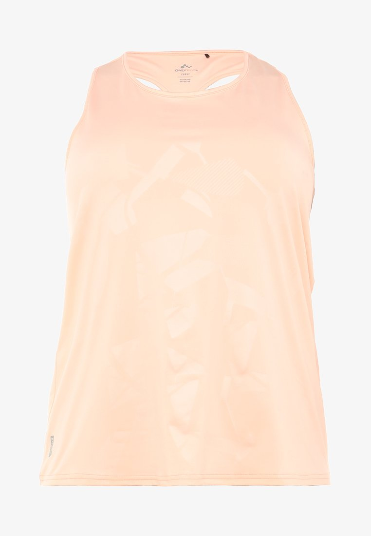 ONLY Play - ONPHYDRA CURVY - Funktionsshirt - pale neon orange