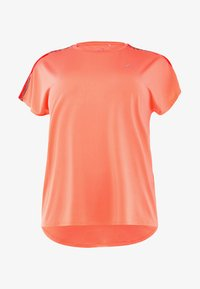 ONLY Play - ONPCALEXIA LOOSE TRAINING TEE - Funktionstrøjer - neon orange/paradise pink - 5