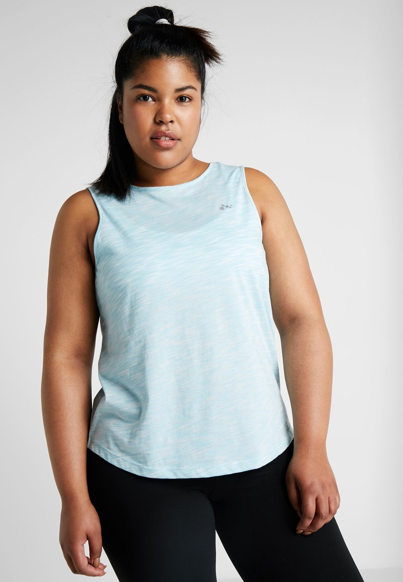 ONLY Play - ONPMALIA CURVY - T-shirt de sport - sea