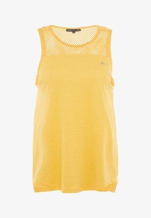 ONPCELESTIAL TANK - Topper - amber yellow