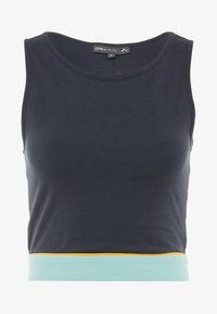 ONLY Play - ONPSPRING CROPPED SOLID  - Top - blue nights/canal blue/amber - 5