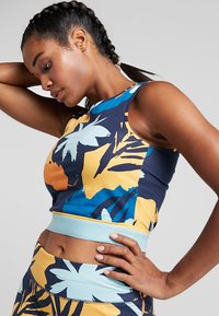 ONLY Play - ONPSPRING CROPPED - Top - blue nights/multicolor - 0