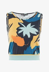 ONLY Play - ONPSPRING CROPPED - Top - blue nights/multicolor - 4