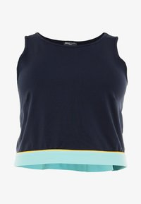 ONLY Play - ONPSPRING CROPPED SOLID  - Top - blue nights/canal blue/amber - 3