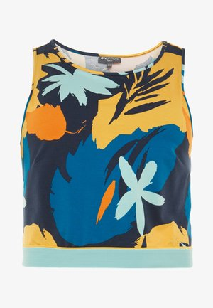 ONPSPRING CROPPED CURVY - Top - blue nights/multicolor