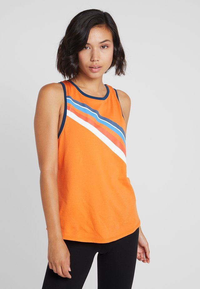 ONPTANGERINE LOOSE TANK  - Top - celosia orange/gibraltar sea