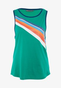 ONLY Play - ONPTANGERINE LOOSE TANK  - Top - greenlake/gibraltar sea/multicolor - 3